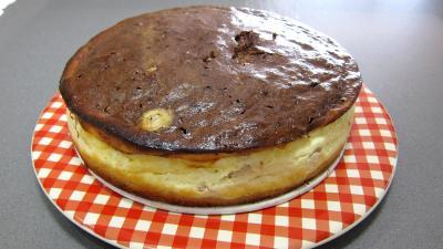 Cheese cake au chocolat bananes - 8.3
