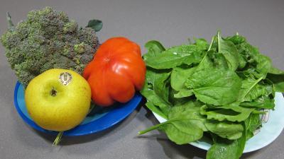 Ingrédients pour la recette : Epinards en salade