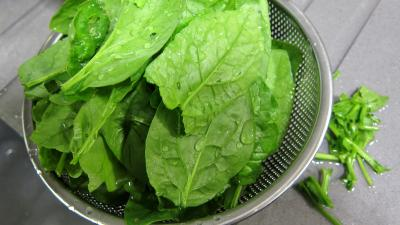 Epinards en salade - 1.2