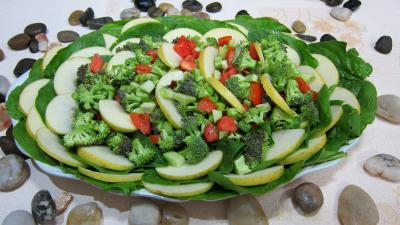Recette Epinards en salade