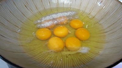 Omelette au chèvre et pissenlits - 5.2