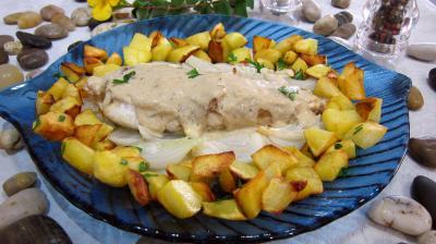 Lotte et pommes de terre sautées - 7.1