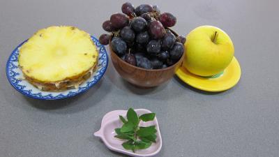 Ingrédients pour la recette : Cocktails de fruits d'automne