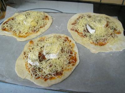 Mini-pizzas à la tomate et au chèvre - 9.3