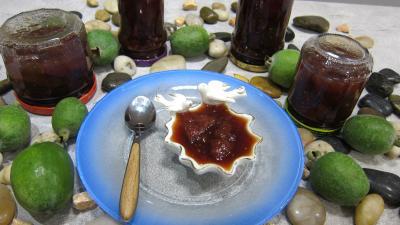 Recette Confiture de feijoas à la vanille