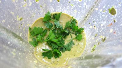 Sauce mojo verde et son poulet grillé à ma façon - 4.3