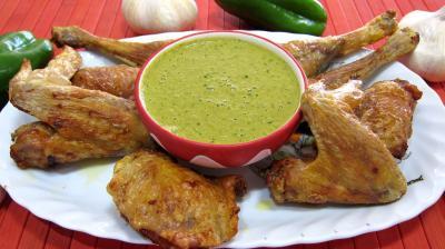 Sauce mojo verde et son poulet grillé à ma façon - 5.2