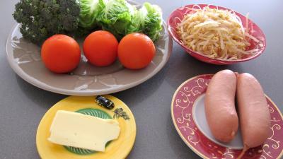 Ingrédients pour la recette : Salade au cervelas