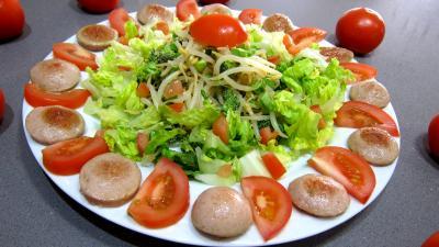 Image : recette Salade au cervelas