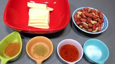 Ingrédients pour la recette : Beurre aux cacahuètes