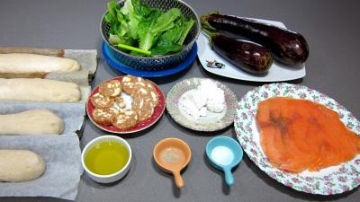 Ingrédients pour la recette : Tartines de truite fumée