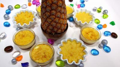 Recette Flans à l'ananas