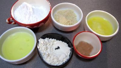 Ingrédients pour la recette : Cuillères aux cacahuètes