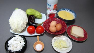 Ingrédients pour la recette : Polenta aux fromages de chèvre