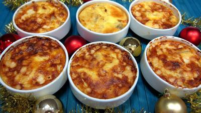 Recette Polenta aux fromages de chèvre