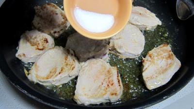 Filet mignon de porc aux topinambours - 9.2