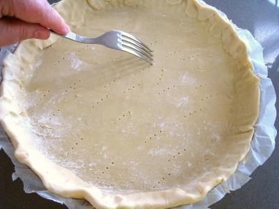 gingembre en poudre : pâte brisée sucrée et salée