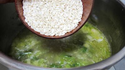 Soupe de riz aux gambas et ognasses - 6.4