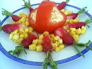 Recette Tomates à l'avocat et au thon