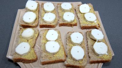Crudités et fromage de chèvre grillé - 4.4
