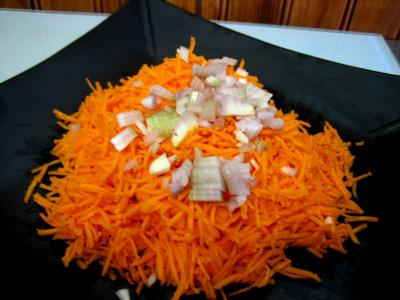 Carottes à la mandarine et aux raisins - 7.1