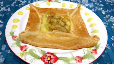 Recette Crêpes à la sauce citron et aux bananes
