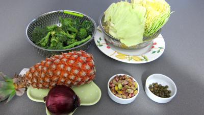 Ingrédients pour la recette : Chou en salade