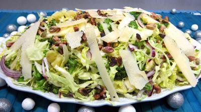 Vinaigrette à la sauce soja : Plat de chou en salade