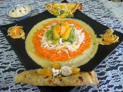 Recette Salade de kiwis et sa sauce à la noix de coco