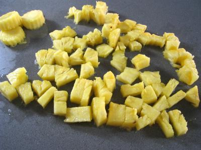 Sauce à l'ananas et aux oignons - 1.1