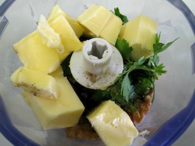 Espadon aux pommes de terre et aux noix - 4.2
