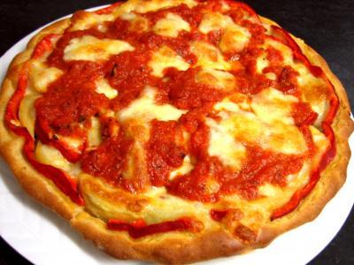 Pizza aux artichauts et mozzarella - 10.4