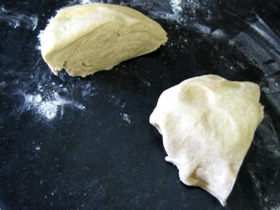 Pizza aux artichauts et mozzarella - 1.1