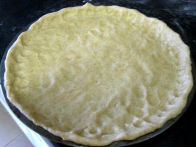 Pizza aux artichauts et mozzarella - 2.4