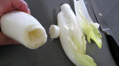 Salade aux restes de pommes de terre vapeur et chèvre - 1.4