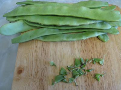 Espadon aux haricots mange-tout façon chinoise - 1.1