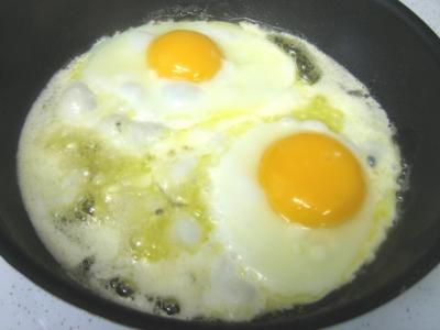 Oeufs au plat aux girolles - 7.3
