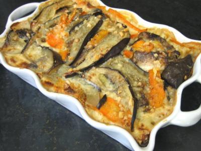 Recette Restes de travers de porc à l'aubergine
