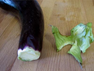 Restes de travers de porc à l'aubergine - 3.3