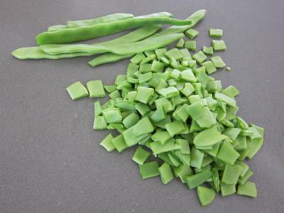 Haricots plats en salade - 1.2