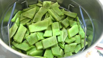 Haricots plats en salade - 1.4