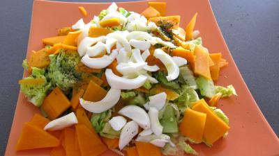 Haricots plats en salade - 4.3