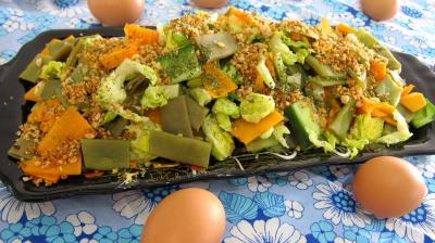 Recette Haricots plats en salade