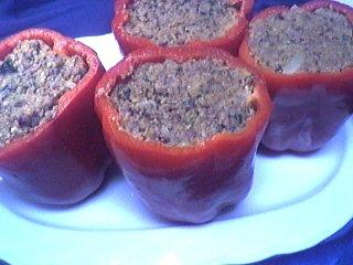 Image : recette Poivrons farcis à la viande