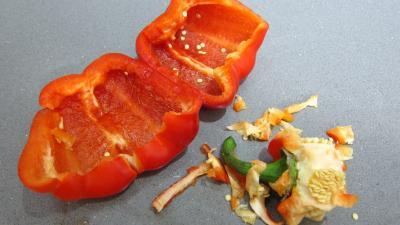 Omelette végétarienne à la chinoise - 1.1