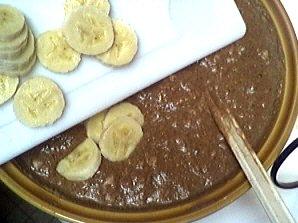Gâteau au chocolat et aux bananes - 7.4