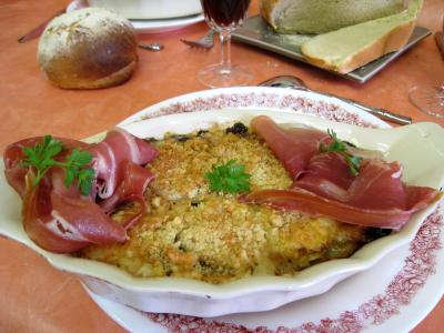 Image : recette Ramequins aux poireaux et aux endives
