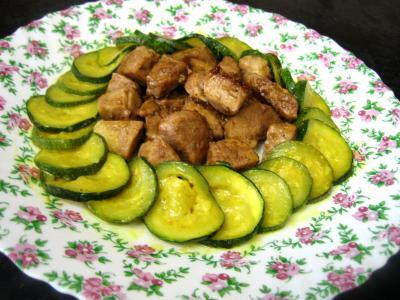 Filet de porc : Assiette de sauté de porc au sirop d'érable