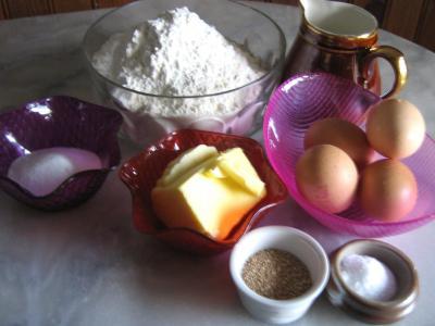 Ingrédients pour la recette : Pain brioché
