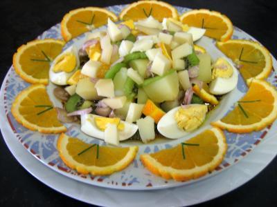 Recette Salade de kiwis à l'orange